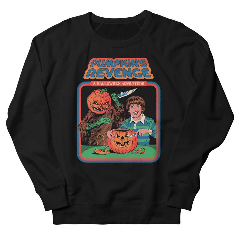 Pumpkin's Revenge Men's French Terry Sweatshirt by Steven Rhodes
