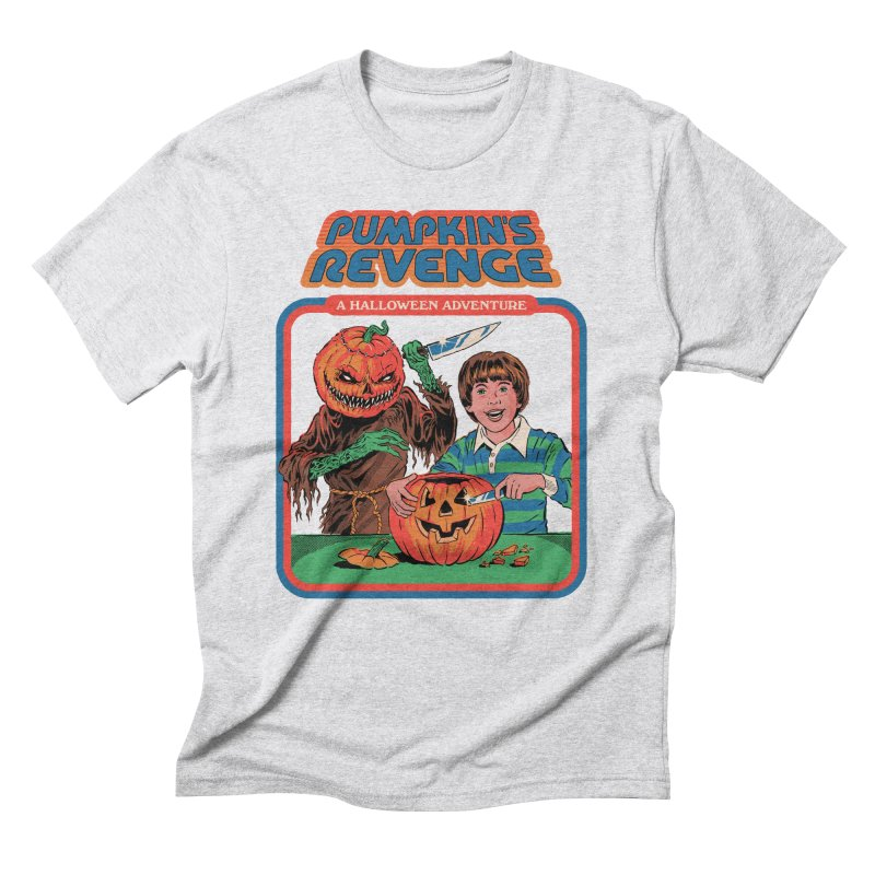 Pumpkin's Revenge Men's Triblend T-Shirt by Steven Rhodes