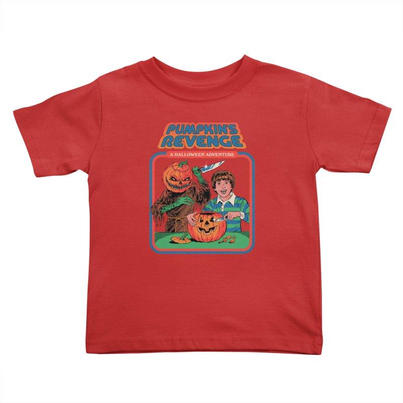 Pumpkin's Revenge Kids Toddler T-Shirt by Steven Rhodes
