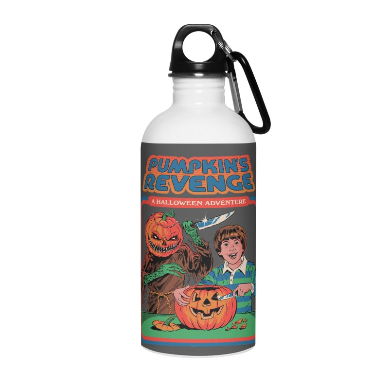 Pumpkin's Revenge Accessories Water Bottle by Steven Rhodes