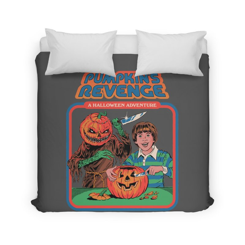 Pumpkin's Revenge Home Duvet by Steven Rhodes
