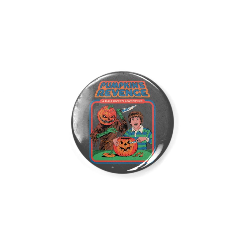 Pumpkin's Revenge Accessories Button by Steven Rhodes