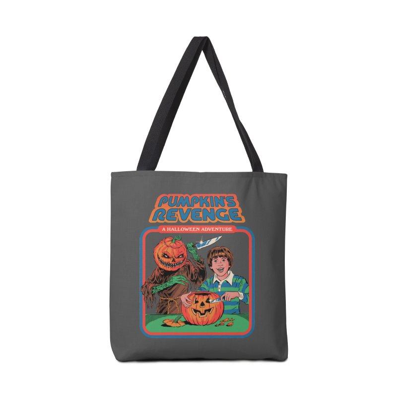 Pumpkin's Revenge Accessories Tote Bag Bag by Steven Rhodes