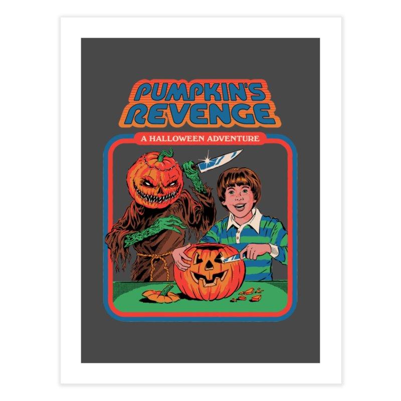 Pumpkin's Revenge Home Fine Art Print by Steven Rhodes