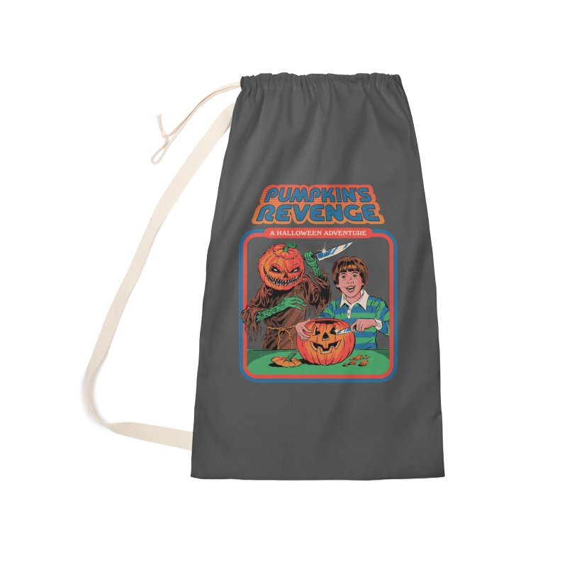 Pumpkin's Revenge Accessories Laundry Bag Bag by Steven Rhodes