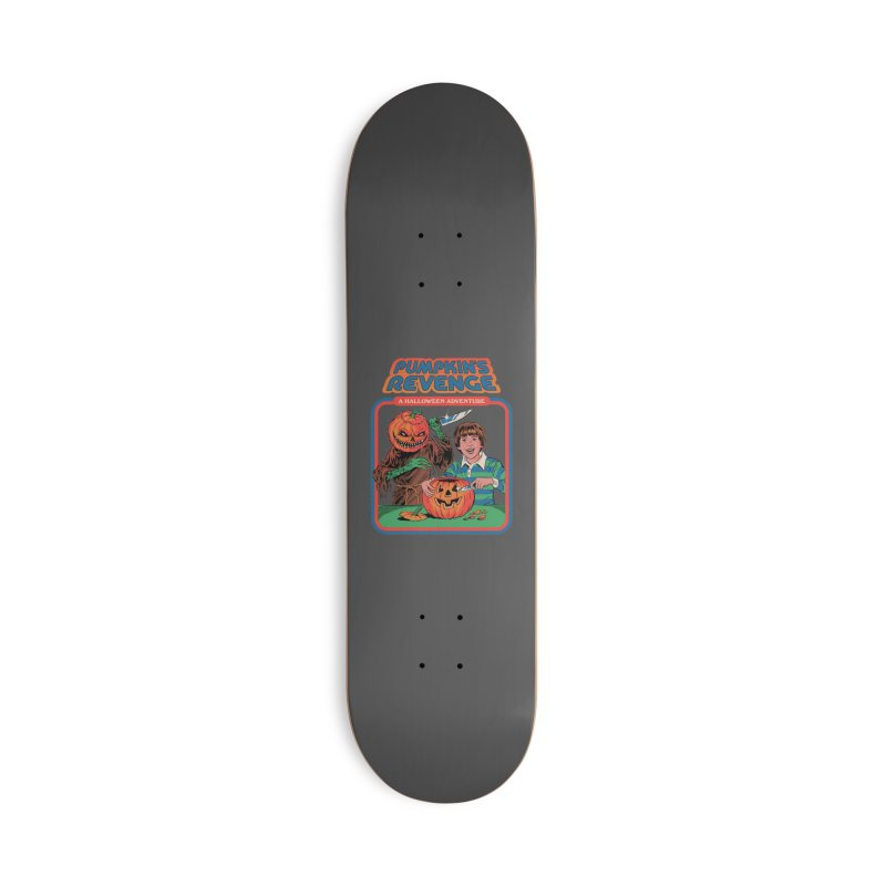 Pumpkin's Revenge Accessories Deck Only Skateboard by Steven Rhodes