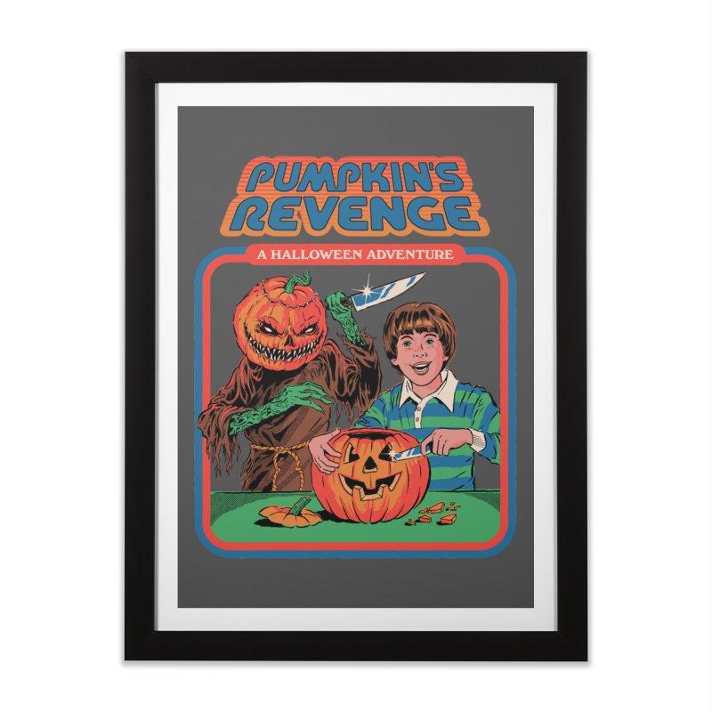 Pumpkin's Revenge Home Framed Fine Art Print by Steven Rhodes
