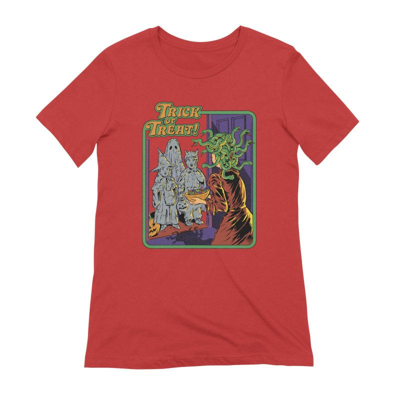 Trick or Treat Women's Extra Soft T-Shirt by Steven Rhodes