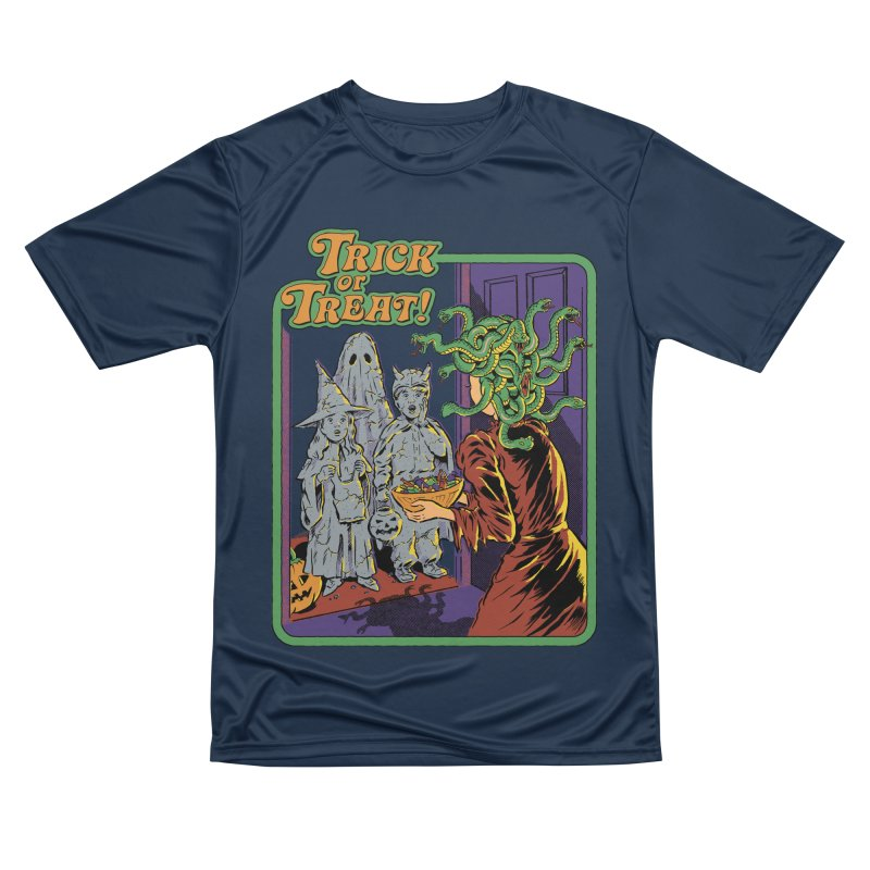 Trick or Treat Men's Performance T-Shirt by Steven Rhodes