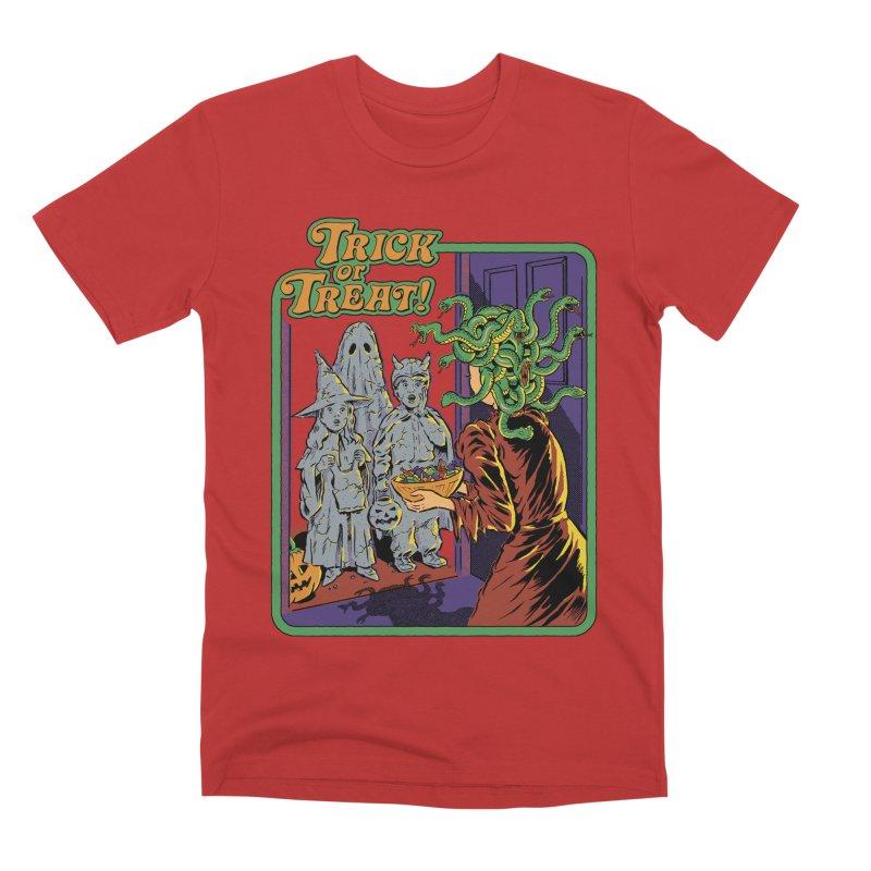 Trick or Treat Men's Premium T-Shirt by Steven Rhodes