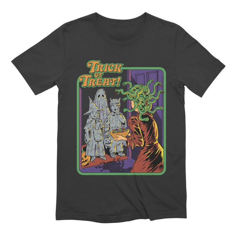 Trick or Treat Men's Extra Soft T-Shirt by Steven Rhodes