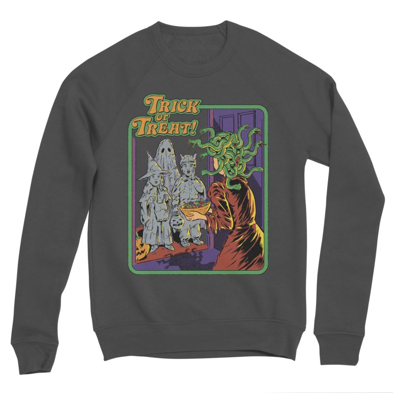 Trick or Treat Women's Sponge Fleece Sweatshirt by Steven Rhodes