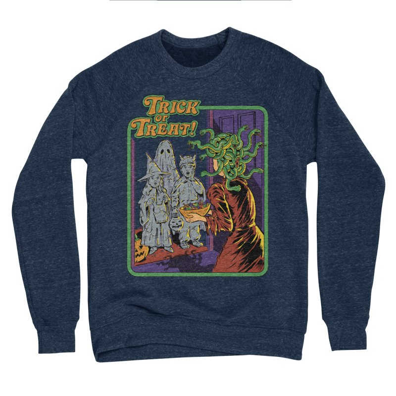 Trick or Treat Men's Sponge Fleece Sweatshirt by Steven Rhodes