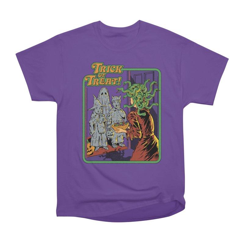 Trick or Treat Women's Heavyweight Unisex T-Shirt by Steven Rhodes