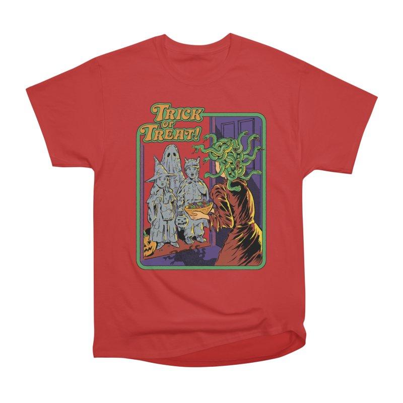 Trick or Treat Men's Heavyweight T-Shirt by Steven Rhodes