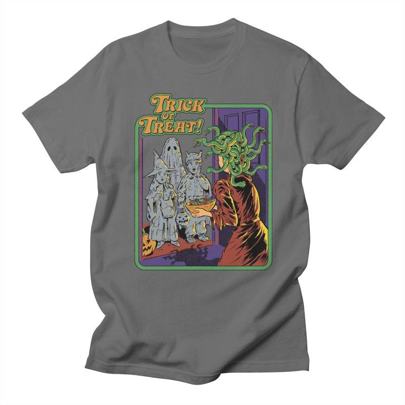 Trick or Treat Men's Regular T-Shirt by Steven Rhodes