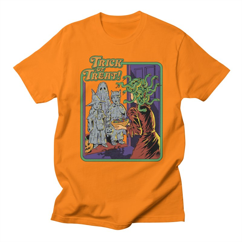 Trick or Treat Women's Regular Unisex T-Shirt by Steven Rhodes