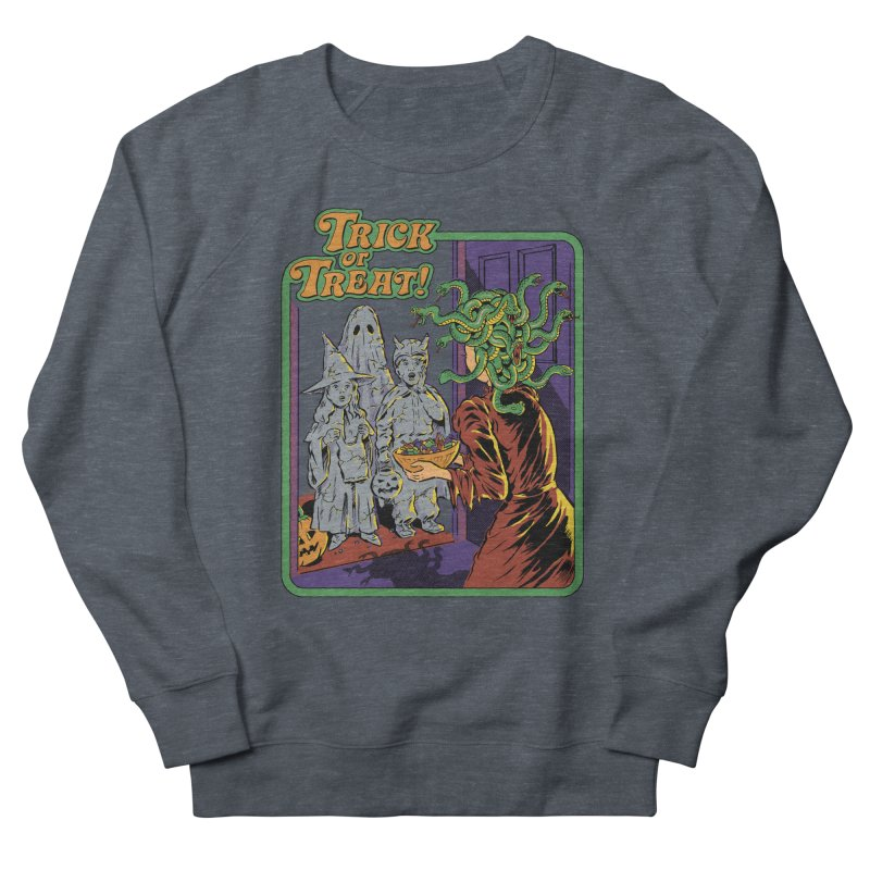Trick or Treat Women's French Terry Sweatshirt by Steven Rhodes