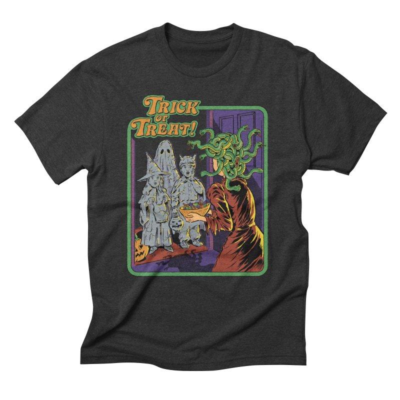 Trick or Treat Men's Triblend T-Shirt by Steven Rhodes