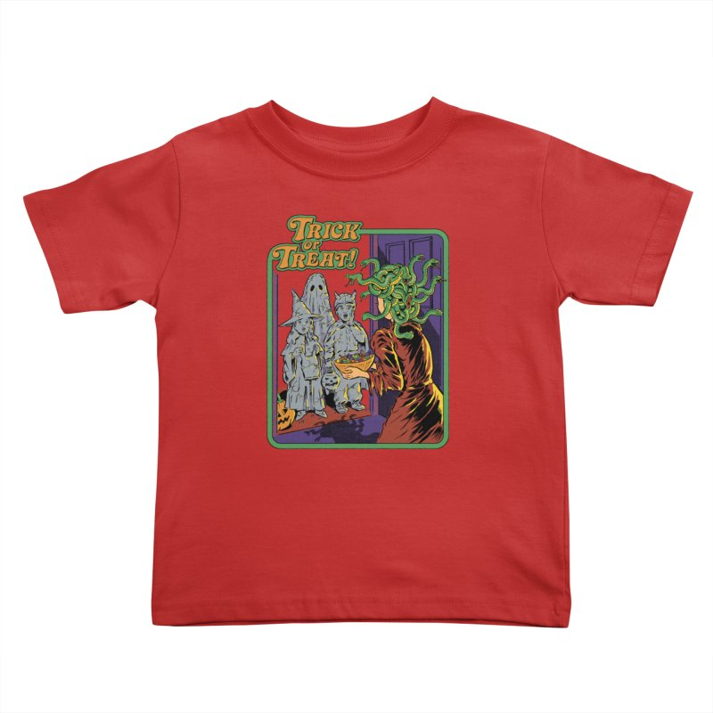 Trick or Treat Kids Toddler T-Shirt by Steven Rhodes