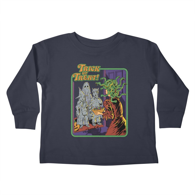 Trick or Treat Kids Toddler Longsleeve T-Shirt by Steven Rhodes