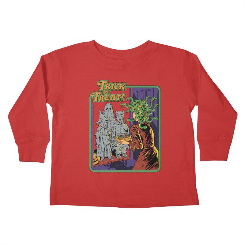 Trick or Treat Kids Toddler Longsleeve T-Shirt by Steven Rhodes