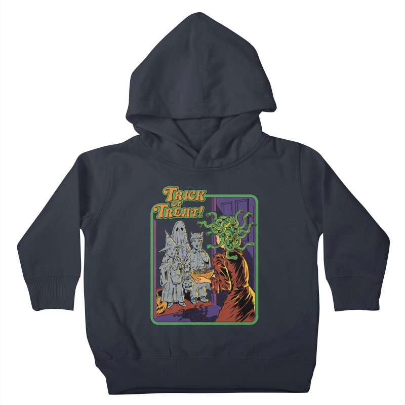 Trick or Treat Kids Toddler Pullover Hoody by Steven Rhodes