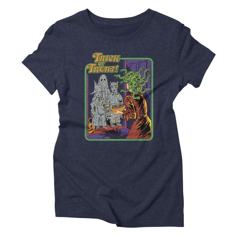 Trick or Treat Women's Triblend T-Shirt by Steven Rhodes