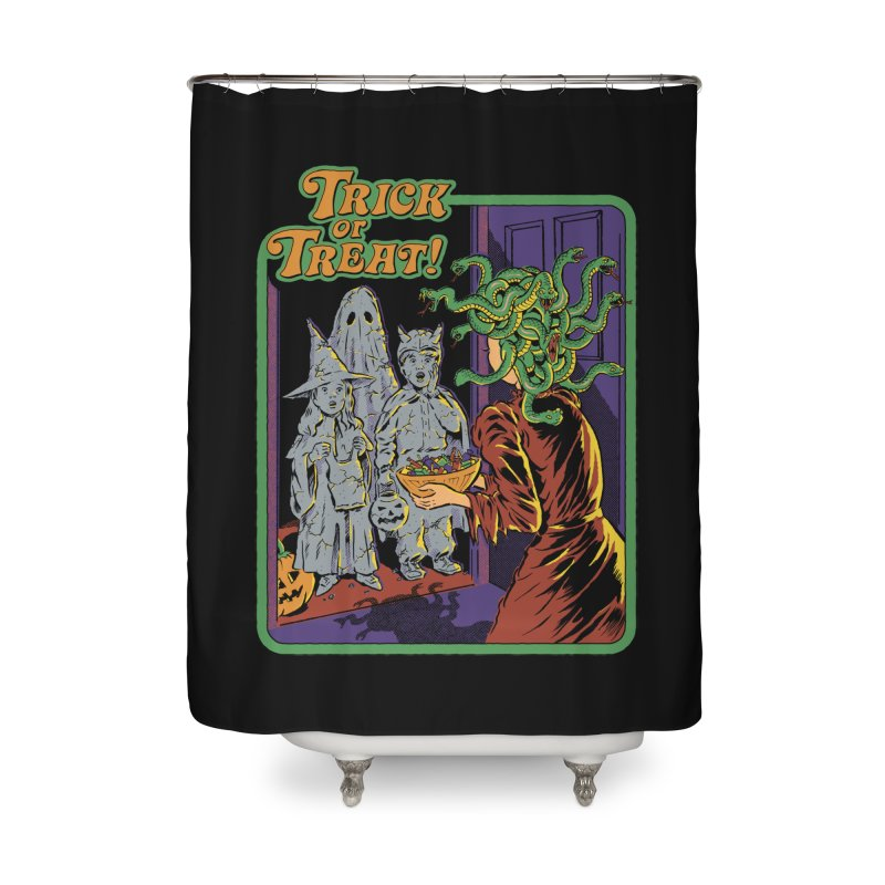 Trick or Treat Home Shower Curtain by Steven Rhodes