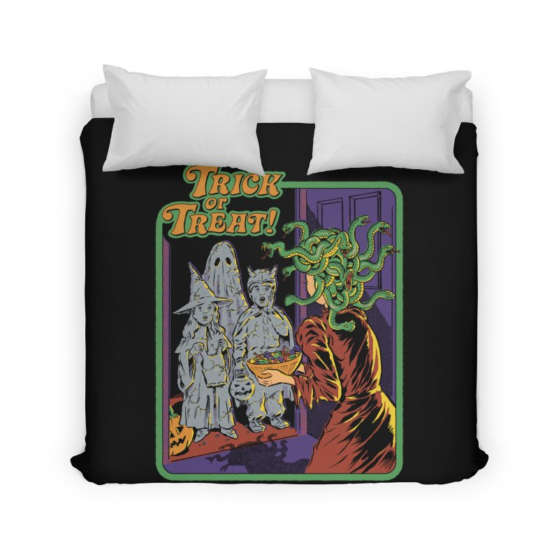 Trick or Treat Home Duvet by Steven Rhodes