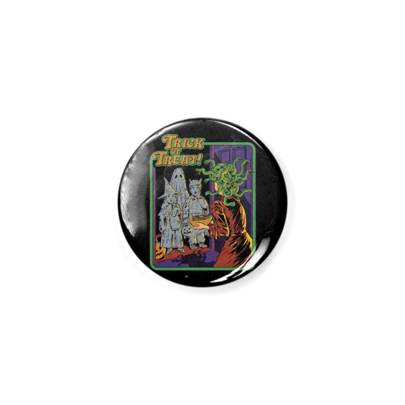 Trick or Treat Accessories Button by Steven Rhodes