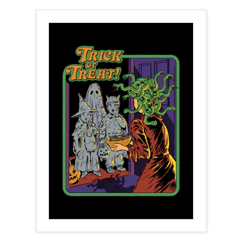 Trick or Treat Home Fine Art Print by Steven Rhodes