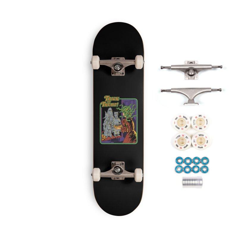 Trick or Treat Accessories Complete - Premium Skateboard by Steven Rhodes
