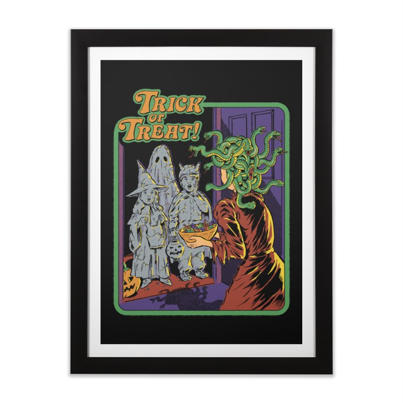 Trick or Treat Home Framed Fine Art Print by Steven Rhodes