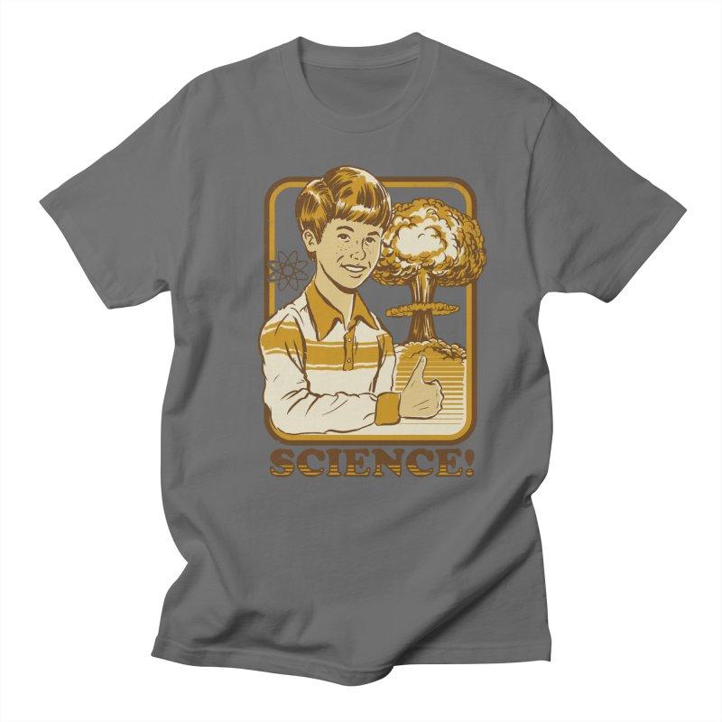 SCIENCE! Men's T-Shirt by Steven Rhodes