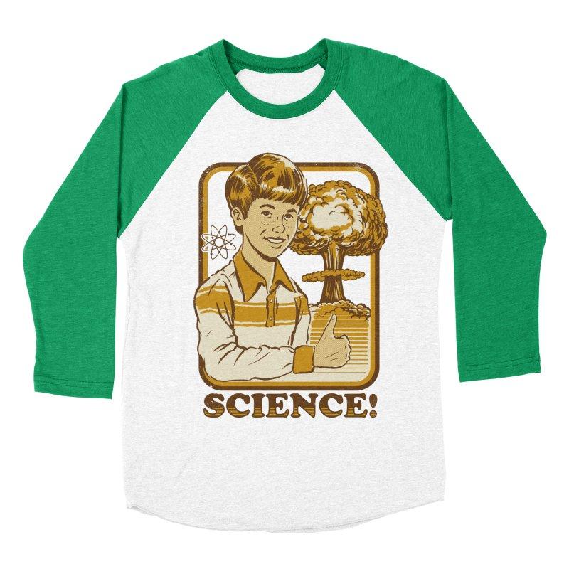 cb13b7f4b SCIENCE! Men's Baseball Triblend T-Shirt by Steven Rhodes