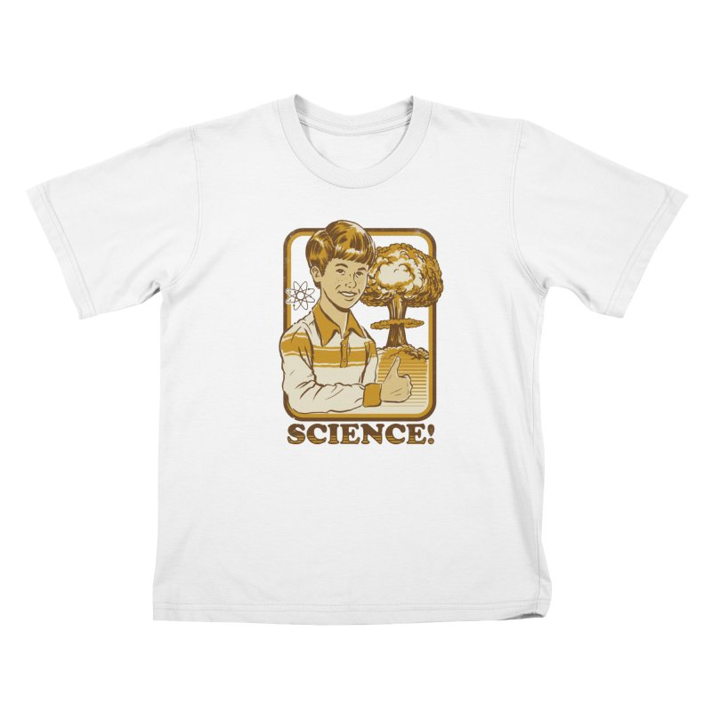 SCIENCE! Kids T-Shirt by Steven Rhodes