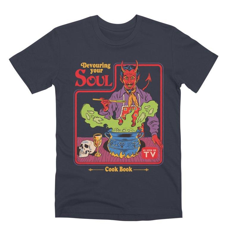 Devouring Your Soul Men's Premium T-Shirt by Steven Rhodes