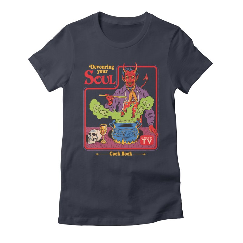 Devouring Your Soul Women's Fitted T-Shirt by Steven Rhodes