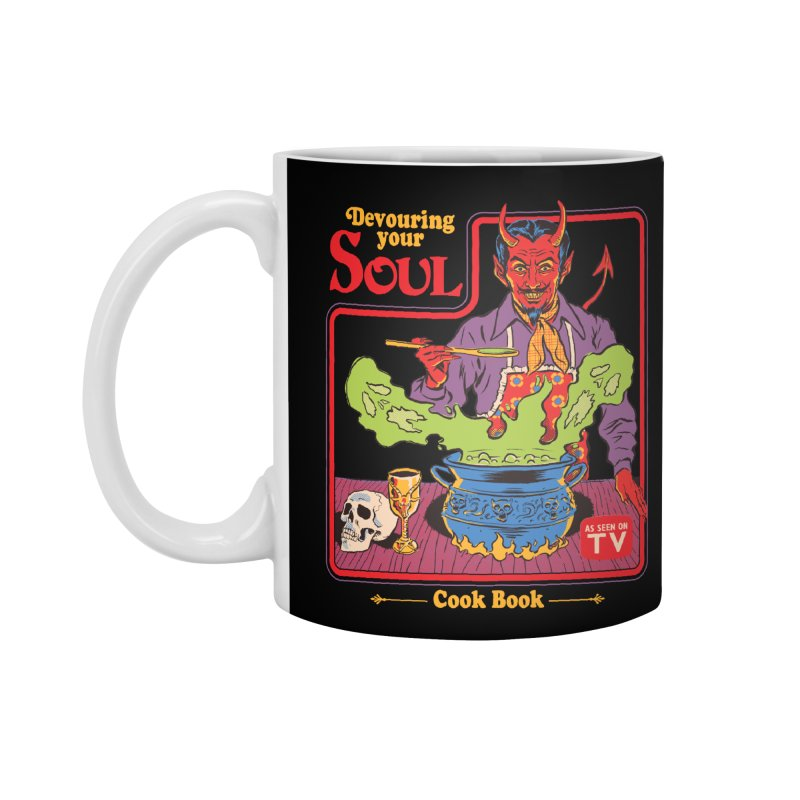Devouring Your Soul Accessories Standard Mug by Steven Rhodes
