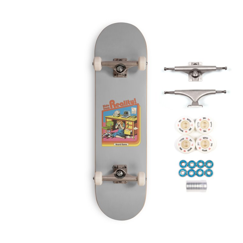 Hide From Reality Accessories Complete - Premium Skateboard by Steven Rhodes