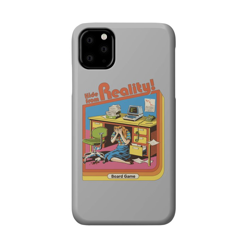 Hide From Reality Accessories Phone Case by Steven Rhodes