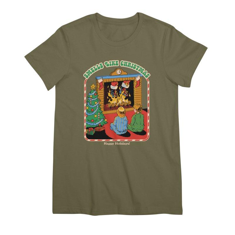 Smells Like Christmas Women's Premium T-Shirt by Steven Rhodes