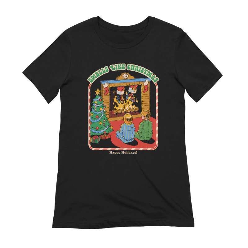 Smells Like Christmas Women's Extra Soft T-Shirt by Steven Rhodes