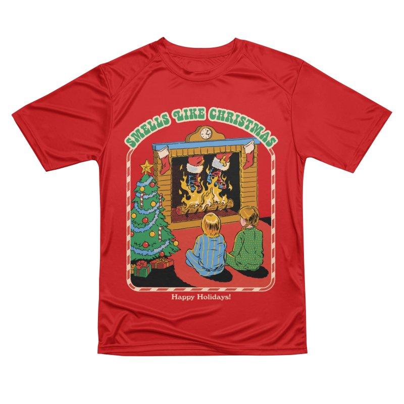 Smells Like Christmas Women's Performance Unisex T-Shirt by Steven Rhodes