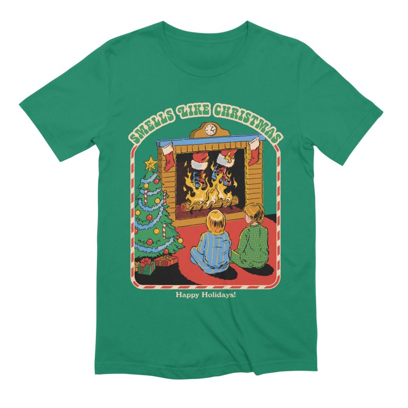 Smells Like Christmas Men's Extra Soft T-Shirt by Steven Rhodes