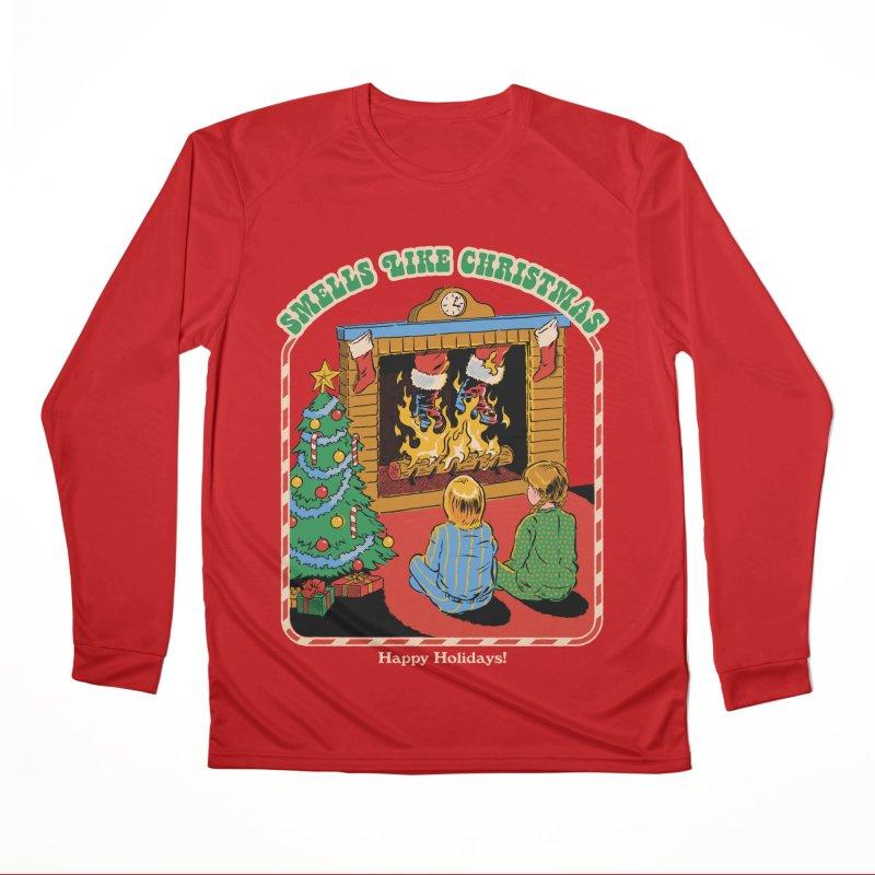 Smells Like Christmas Women's Performance Unisex Longsleeve T-Shirt by Steven Rhodes