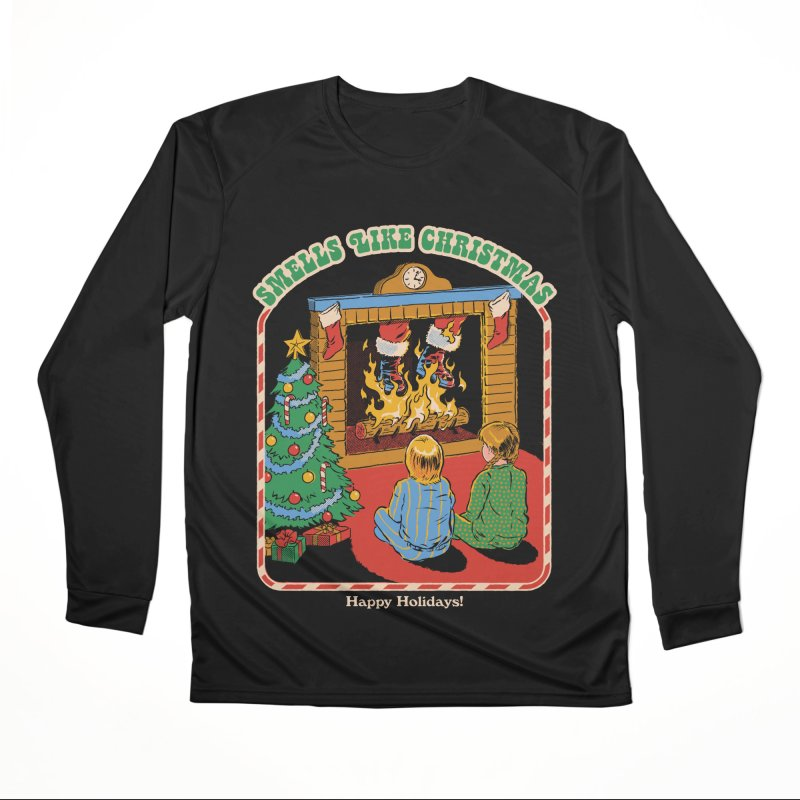 Smells Like Christmas Men's Performance Longsleeve T-Shirt by Steven Rhodes