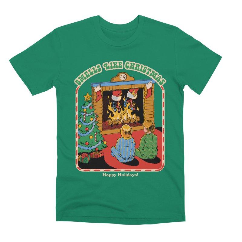 Smells Like Christmas Men's Premium T-Shirt by Steven Rhodes