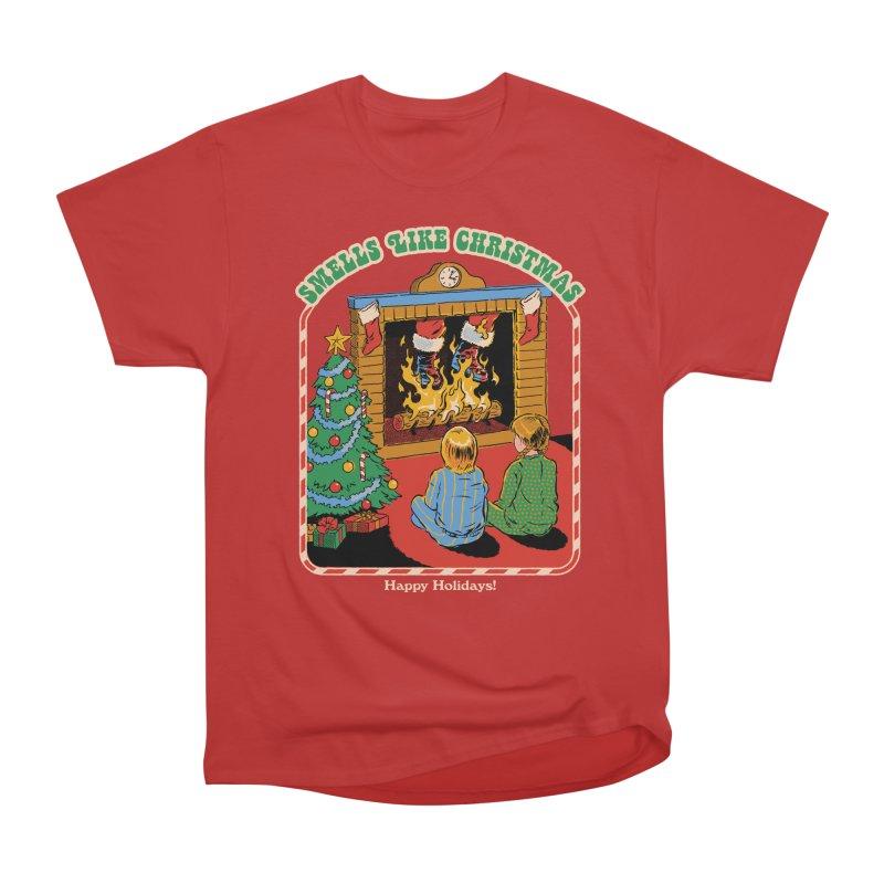 Smells Like Christmas Men's Heavyweight T-Shirt by Steven Rhodes